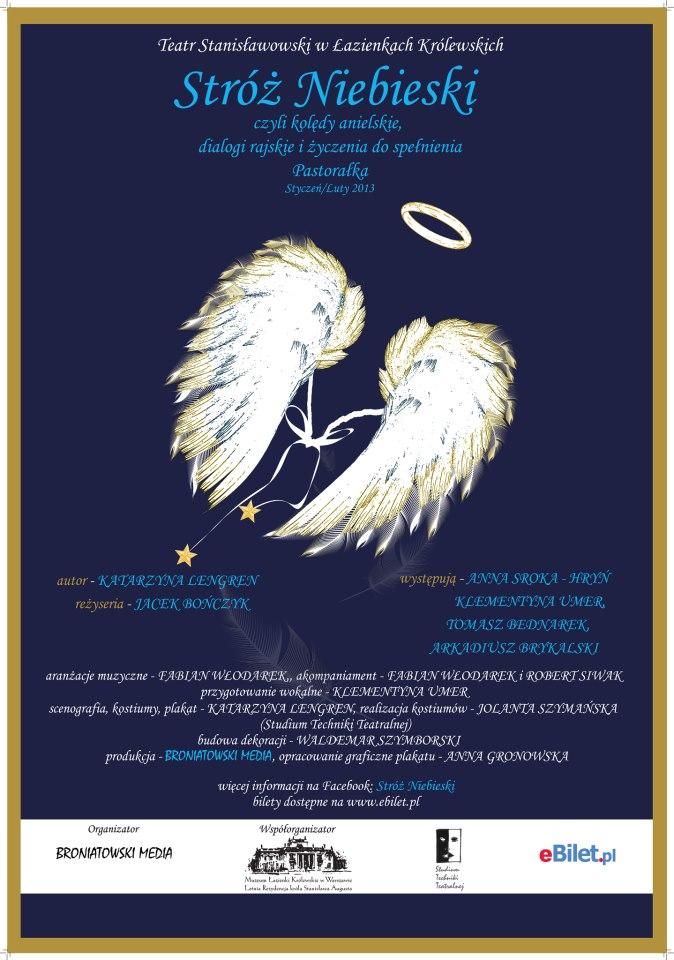 Stróż Niebieski Bilety Plakat Facebook