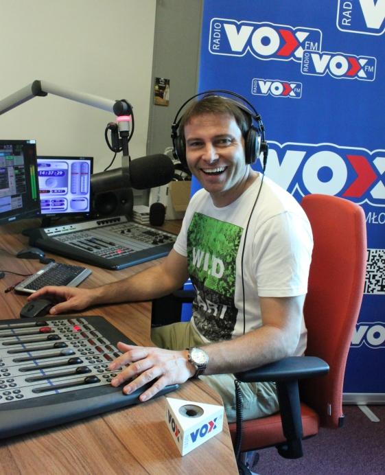 Bednarek w VOX FM